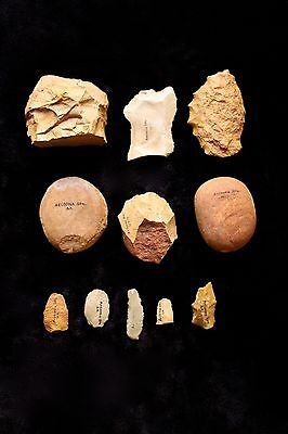 Aboriginal Stone Artefact Collection - Arcoona Station South Australia 1960s