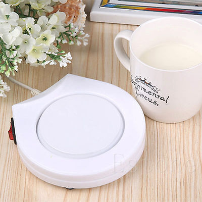 New Office House Use Electric Warmer Cup Coffee Milk Heating Pad AC 110V Gayly