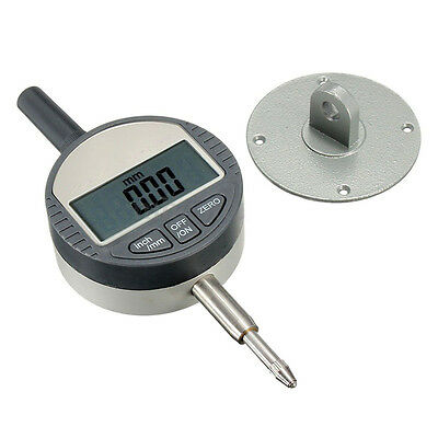 "New Digital Dial Indicator 0.01mm/0.0005"" Range 0-25.4mm/1"" Gauge Precision Tool"