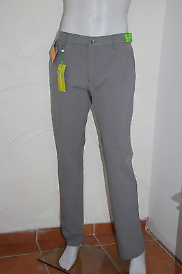 Alberto Herren Golfhose Rookie 3xDry Fit Cooler - Farbe: grey 960, Neu!