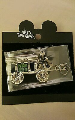 Disneyland HAUNTED MANSION HEARSE HORSELESS CARRIAGE Retired Pin Disney