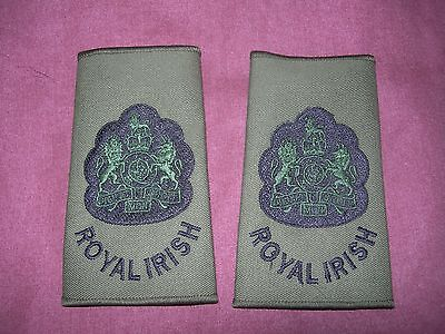 Warrant Officer Class One Rank Slides - Royal Irish Regiment