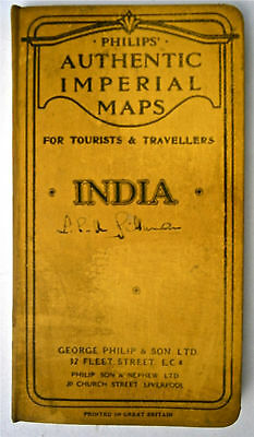 Authentic Imperial Map of India