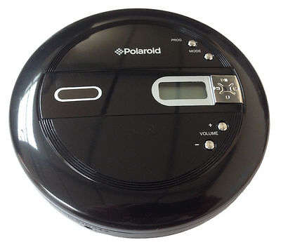 PKS-66A Portable Personal CD Player - Black with LCD Display