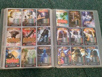 Job Lot Of Doctor Who Battles In Time Exterminator Cards