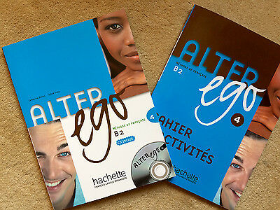 Alter Ego B2 Book and Excercise Book with CD