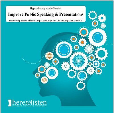 Improve Public Speaking and Presentations CD (Hypnosis, Hypnotherapy) S.Shinwell