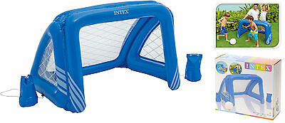 Intex Inflatable Football Goal Post Swimming Pool Goal Game Water Polo Goal Net