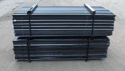 Star Pickets BLACK HEAVY Steel Fence Post 2400mm 10 pack