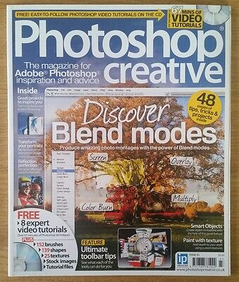 Photoshop  Creative magazine complete with CD - issue number 43.