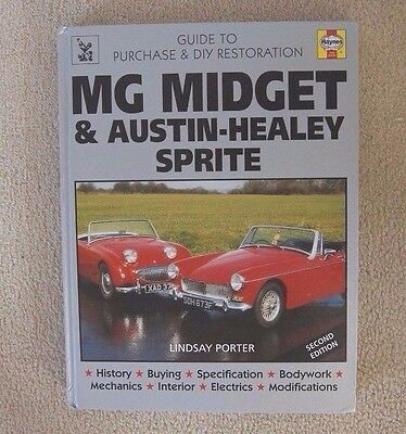 Haynes Mg Midget & Austin Healey Sprite Purchase And Restoration Manual Hardback