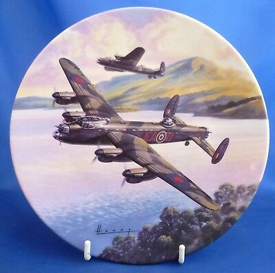 Royal Worcester The Dambusters Collector Plate - Prelude: Low Over The Lake