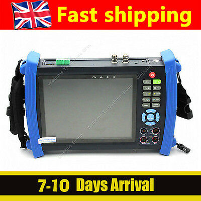 """7""""Monitor Security Camera Tester Ping IP Address POE PTZ+4G Card HVT-3600 HD LCD"""