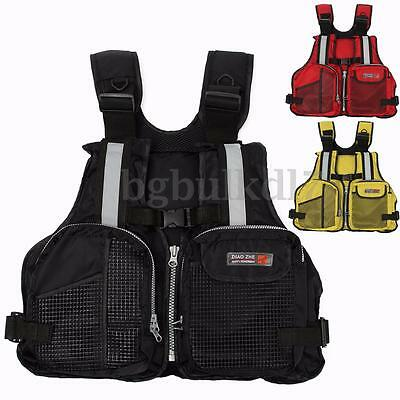 Adult Buoyancy Aid Sailing Boating Fishing Kayak Canoeing Life Jacket Vest AU