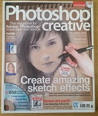 Photoshop  Creative magazine complete with CD - issue number 36
