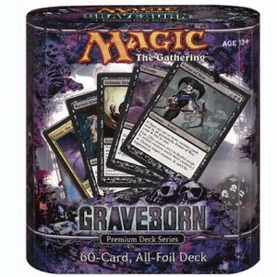 MAGIC: Premium Deck Series Graveborn Full Set 1X ALL CARDS OF THE SET ENG