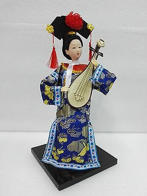 Oriental Broider Doll,Old figurine chinese Dynasty princess dolls statue