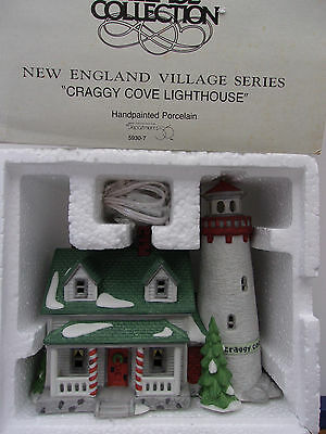Dept 56 New England Village Craggy Cove Lighthouse