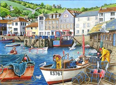 House Of Puzzles - 1000 PIECE JIGSAW PUZZLE - Busy Harbour Find The Differences