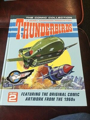 The Comic Collection Thunderbirds Vol 2 Gerry Anderson Hardback New