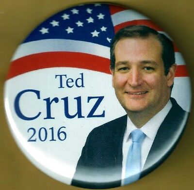 Ted Cruz for President 2016 Presidential Campaign Button