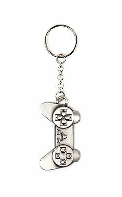 Playstation Keyring Keychain Controller Key Ring Keychain Metal new Official PS4
