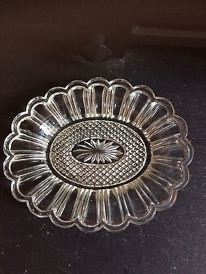 Lovely Small Cut Glass Nut Dish