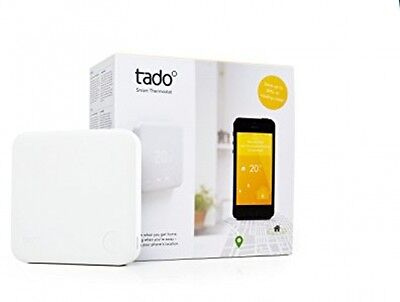 Tado Smart Thermostat Starter Kit (v2) - Intelligent Heating Control With Via
