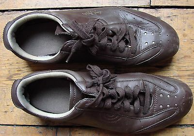 Paul Smith SPORT brown lace-up shoes - size UK8
