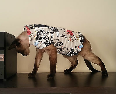 adult THICK COTTON for a Sphynx cat clothes for Katze, cat clothes HOTSPHYNX
