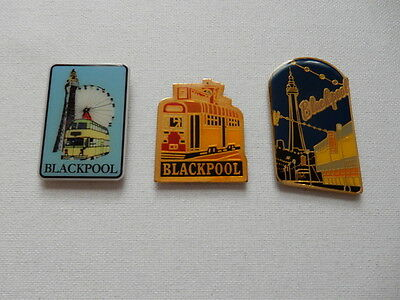 One Selected Metal Souvenir Fridge Magnet from Blackpool