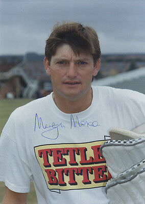 Martyn Moxon - Yorkshire C.C.C. and England - Signed Colour Photograph.