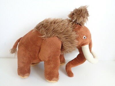 ICE AGE 4 CONTINENTAL DRIFT - MANNY THE WOOLLY MAMMOTH SOFT TOY by PLAY BY PLAY