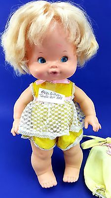 Vintage Tender Love Baby Doll Birthday Original Outfit 1975 Mattel 2 Outfits