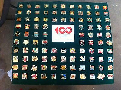 Coca Cola Collectible 100 Year Centennial Pin Series 1886-1986