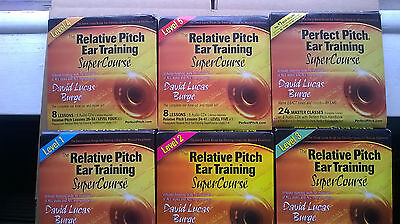 RELATIVE PITCH EAR TRAINING  - Absolute Perfect NEW CDs  49 CDs