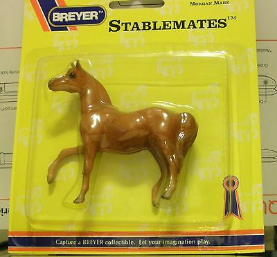 Breyer Stablemate Plastic Horse New In Box Morgan Mare #5185 Chestnut Brown