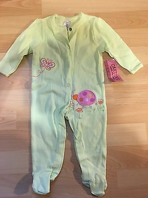 Carters Baby Girl Pajama Sleep & Play Size 3-6 Month New With Tags
