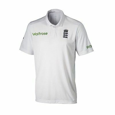 2016 adidas England Cricket TEST Replica Adult Cricket Shirt Size Large