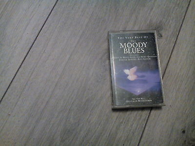 the very best of the moody blues cassette tape