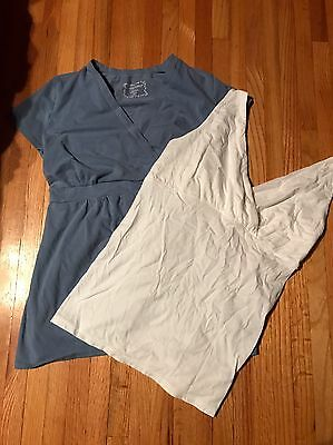 Lot of 2 Women's Maternity Shirts - Small, XSmall Motherhood Maternity Old Navy