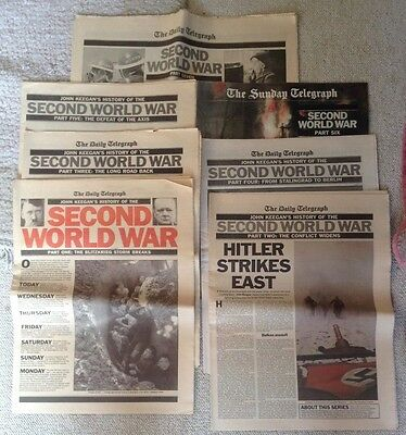 Daily Telegraph: John Keegan's History of The Second World War in 7 Parts (1989)