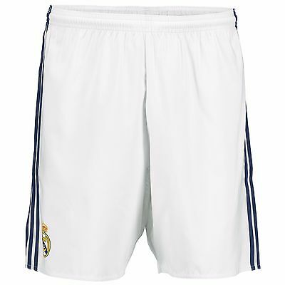 Adults Large Real Madrid Home Shorts 2016/17 #7 printing  RM13