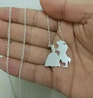 Beauty And The Beast Necklace Disney Inspired Gift Jewellery