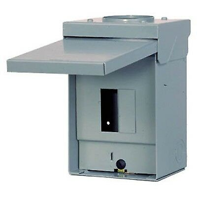 Siemens 60 Amp 120/240 Volt Outdoor Load Center Circuit Breaker Enclosure