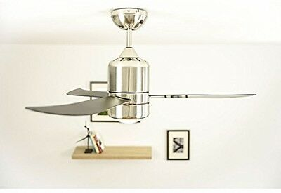 AireRyder FN51133 Transparent Loft Ceiling Fan With Lighting And Remote Control