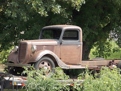 1936 Ford Other Pickups  1936  1 1/2 Ton Flatbed Truck