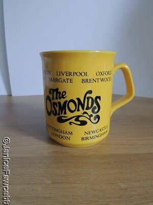 The Osmonds - Yellow Mug