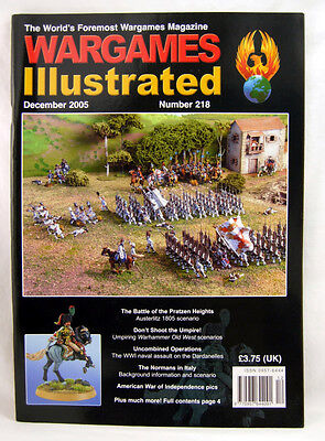 Wargames Illustrated, Issue 218, December 2005