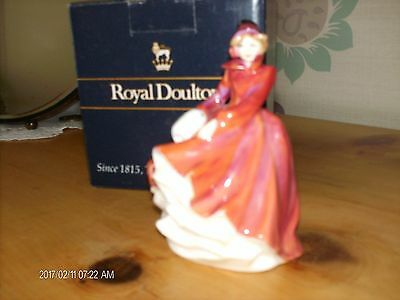 royal doulton miniature   EMMA in mint condition with box